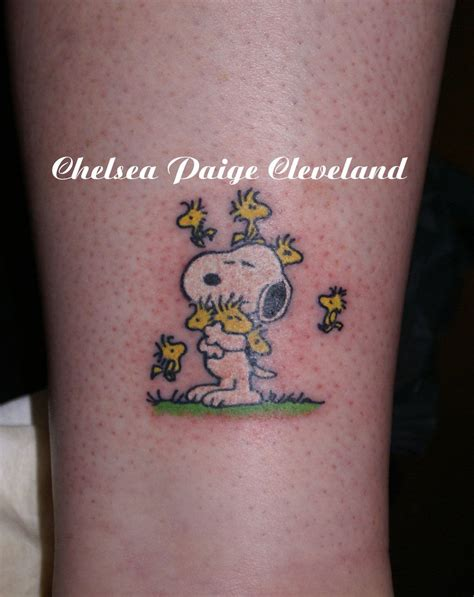 snoopy tattoo designs snoopy a woodstock for each child my