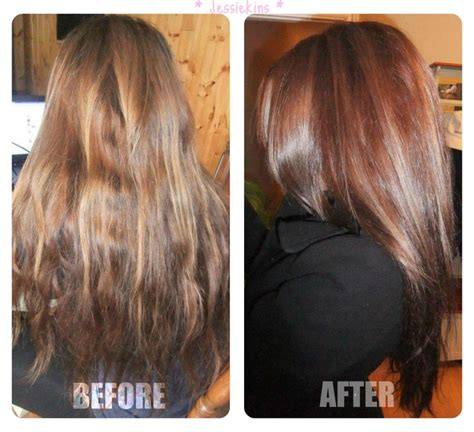 diy lowlights to color grays remove brassiness from hair om hair