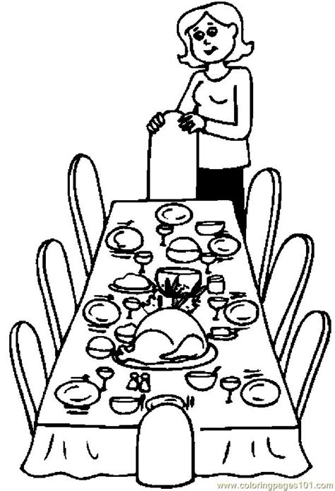 coloring page thanksgiving dinner thanksgiving dinner coloring pages az coloring pages