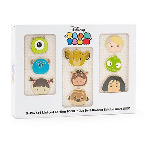 Tsum Tsum Edition by Tsum Tsum Limited Edition Pins Set Of 9