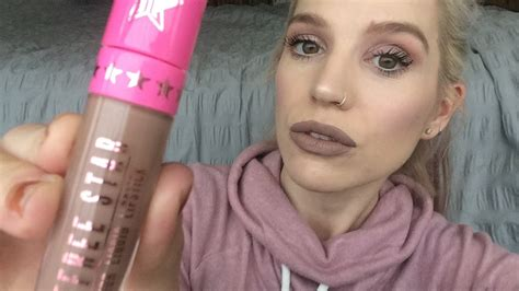 Its On Vs Posh Spice by Jeffree Posh Spice Liquid Lipstick Impression