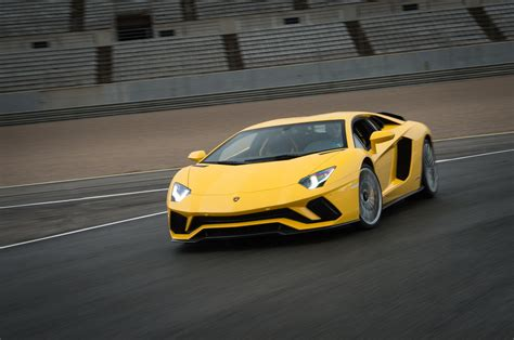 first lamborghini first drive 2017 lamborghini aventador s automobile