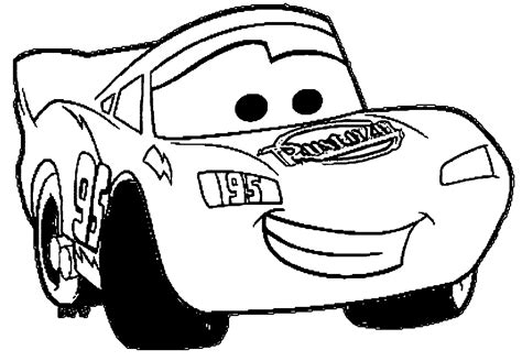 Coloring Pages Lightning Mcqueen Cars 2 Coloring Pages Of Mcqueen Car Coloring Page