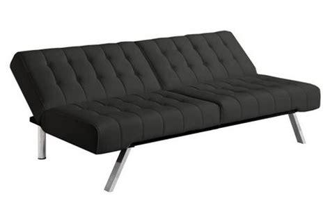 emily convertible futon black dhp emily convertible futon black walmart ca
