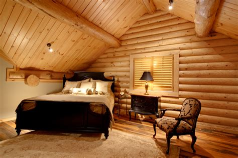 Log Home Interior Photos by Log Home Interiors High Peaks Log Homes