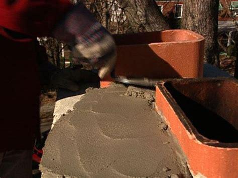 how to repair chimney mortar how tos diy