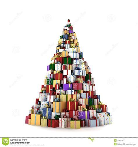 big mountain of gifts stock illustration illustration of