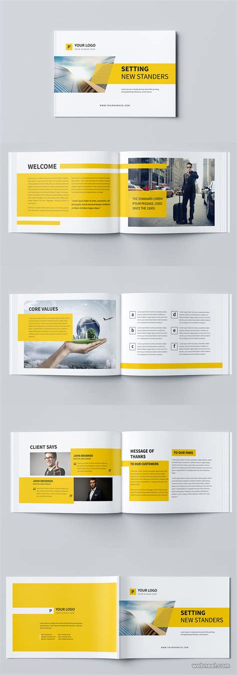 photo layout brochure brochure design by mohammed gharabli 10 preview