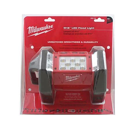 milwaukee m18 flood light milwaukee 2361 20 m18 led flood light