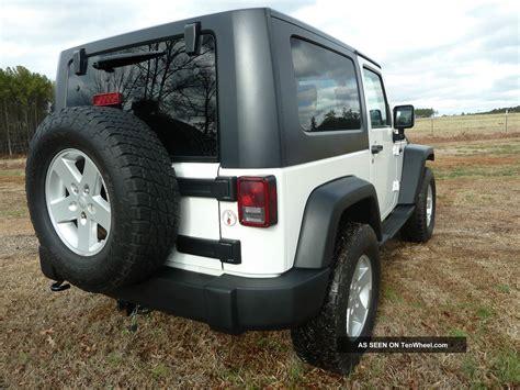 2009 jeep wrangler 2 door top t top