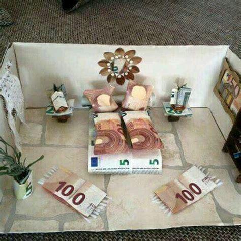 Geldgeschenk Hochzeit by Geld Liebevoll Verpacken Schlafzimmer Ros1