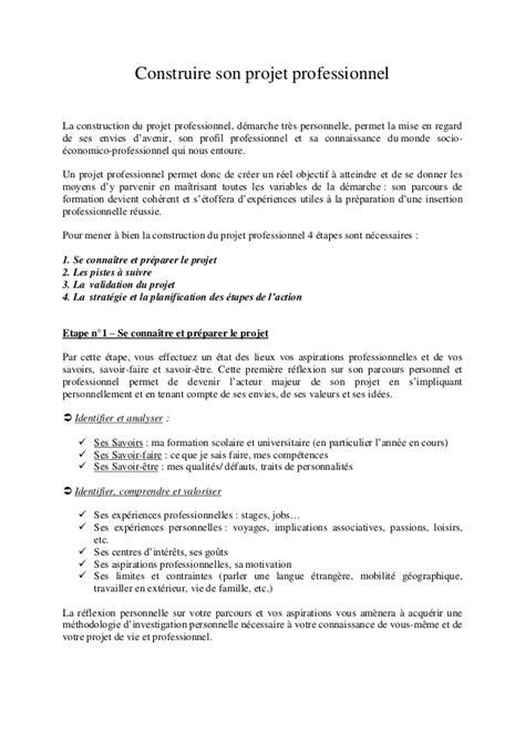 Exemple De Lettre De Présentation De Projet Fongecif Construire Projet Professionnel