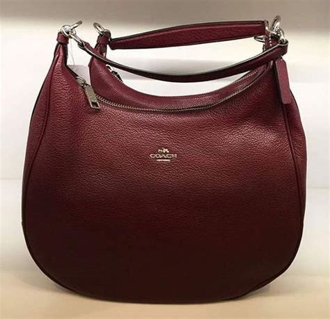 Coach Small Kelsey Embossed Leather Signature Plum Coach Handbags Others Direct From Us 100 Authentic