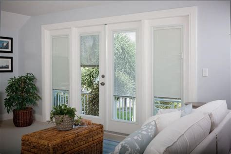 Patio Door Blinds In Glass Pros And Cons Of Blinds Between Glass Panes Through The Front Door