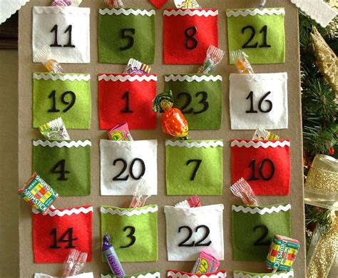 Advent Calendar Handmade - handmade felt advent calendar by thoughts of you
