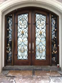 Home Decor Doors by Wrought Iron Design Custom Wrought Iron Accessories