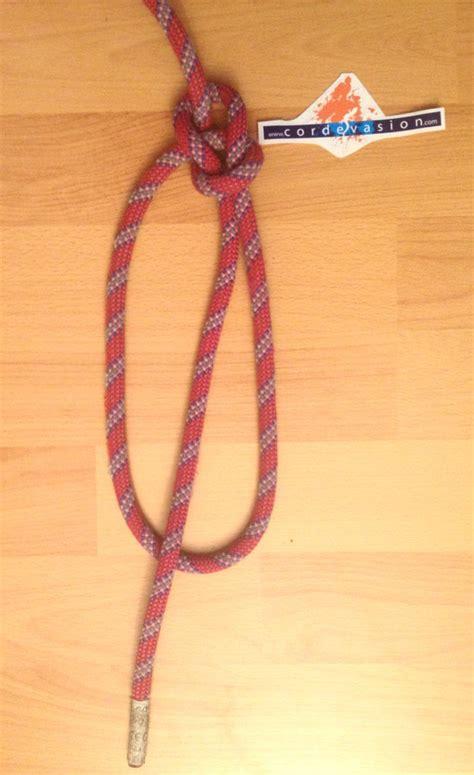 faire un noeud de chaise noeud de chaise yosemite cord 233 vasion