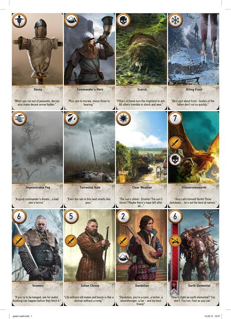 high res magic card template complete printable gwent cards high resolution cards
