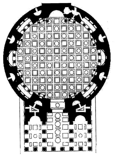 pantheon floor plan 3 2 3 roman temples quadralectic architecture