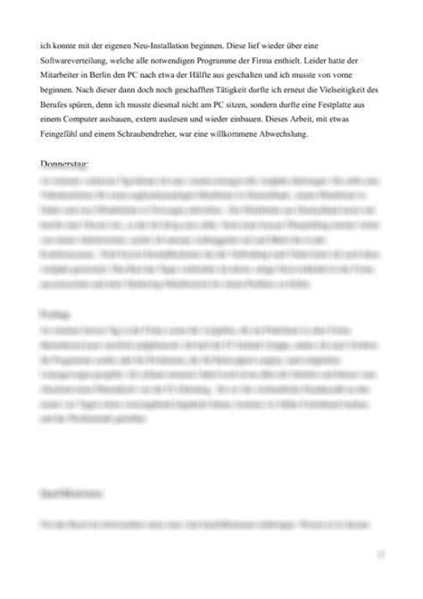 Meine Bewerbung Htw Berlin Seite Praktikumsbericht
