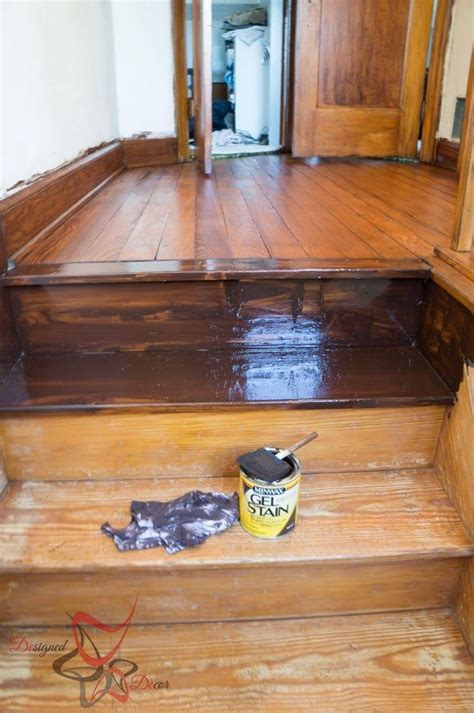 Using Gel Stain over existing stained wood!   Minwax gel