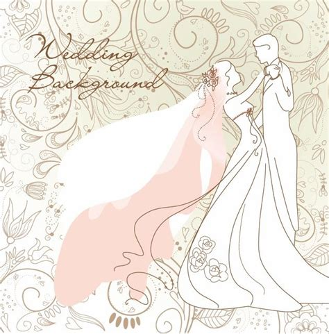 Wedding Background Vector wedding background vector illustration free vector