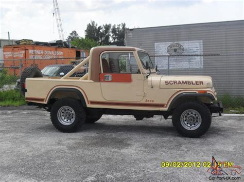 jeep scrambler for sale 1983 cj8 scrambler jeep