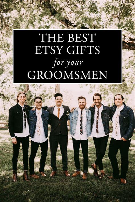 wedding gift groomsmen the best etsy groomsmen gifts junebug weddings