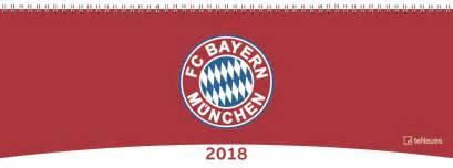 Kalendar 2018 Bayern Kalender 2018 Fc Bayern M 252 Nchen Tischquerkalender 2018 Fc