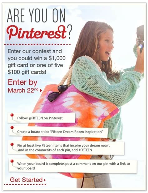 Pottery Barn Teen Gift Card - 15 best images about social media exles on pinterest