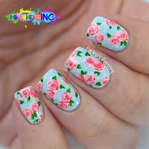 Types Of Garden Roses - top 45 pretty acrylic nails