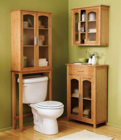 spacesaver bathroom cabinet bamboo bathroom spacesaver collection