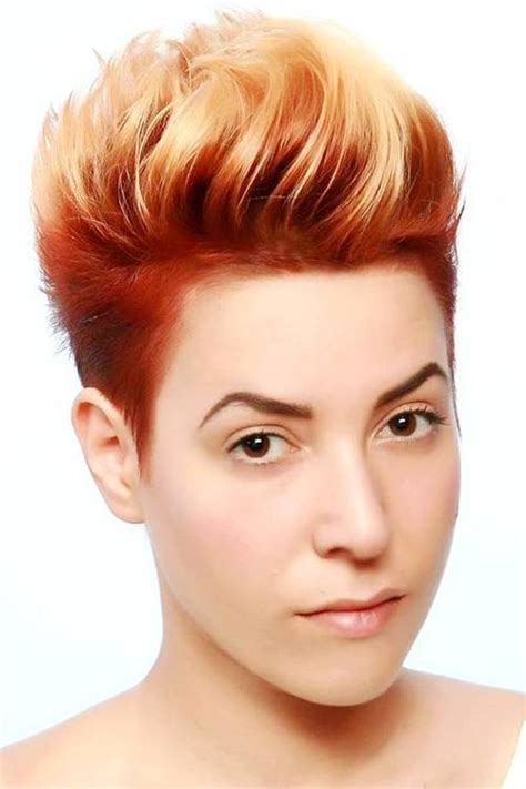 short haircut with red tint and highlights 20 edgy how to jazz up your short hair with highlights