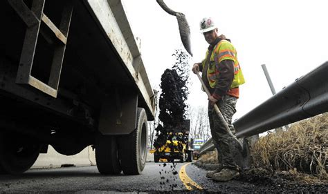 Harford County Section 8 by Route 165 Pavement Patching From Fallston To Jarrettsville