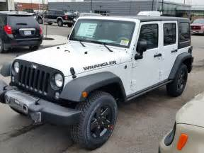 2016 jeep wrangler unlimited sport white vaughan