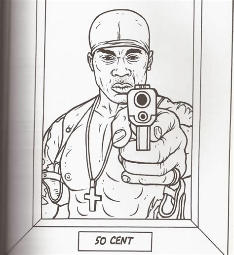 Gangsta Coloring Pages pin gangsta colouring pages on