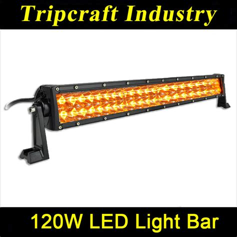 2014 New Amber 120w Led Driving Light Bars Amber Led Automotive Led Light Bars
