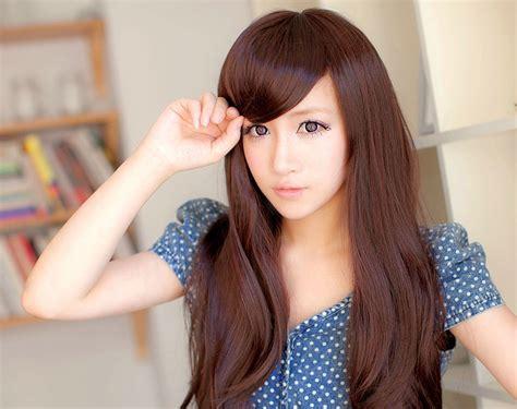 model rambut wanita  jidat lebar tribunmode