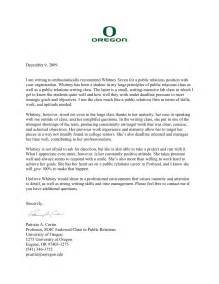 Recommendation Letter For Academic Academic Letters Seven