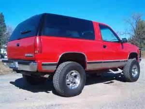 sell used 1994 chevy blazer 4x4 6 5 l turbo diesel