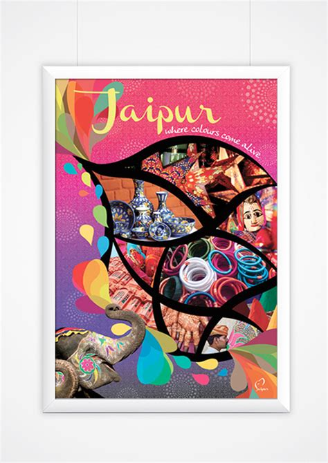 Poster Design In Jaipur | jaipur where colours come alive yvonne tan