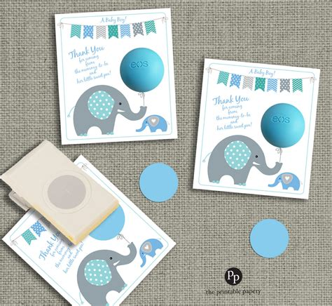 eos template for baby shower favors free baby shower gift tags for eos lip balm gifts instant download