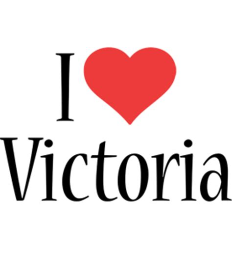 Imagenes De I Love Valeria   victoria logo name logo generator i love love heart