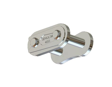Senqcia Roller Chain Rantai Rs 40 2 senqcia inspire series 40ss 304 stainless steel connecting link clip type asme ansi