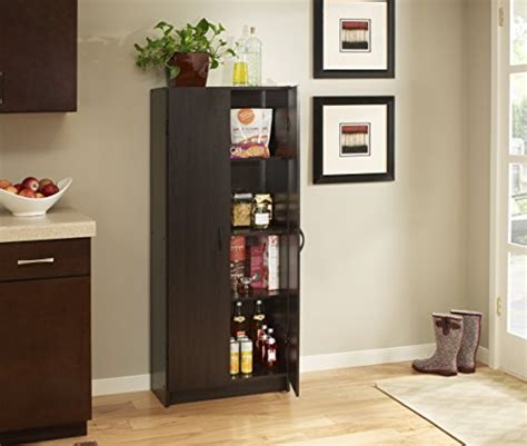closetmaid kitchen pantry closetmaid 1556 pantry cabinet espresso furniture