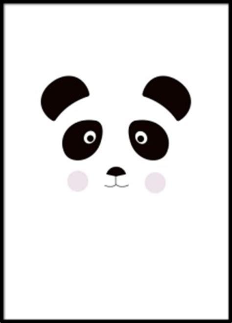 135738 Hem Panda Salur 1 poster med panda till barnrum barntavlor