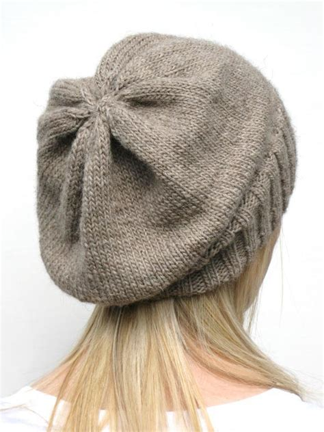 knitting pattern slouchy hat you have to see dk eco slouchy hat knitting pattern by