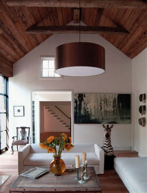 Wood Ceiling Designs Living Room by Comfortable Living Room Design Ideas With Reclaimed Wood
