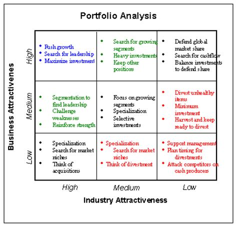 portfolio analysis template mckinsey ge matrix software for product portfolio analysis