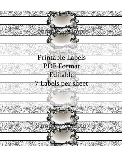 Soap Labels Ashlisoapblog Soap Band Template